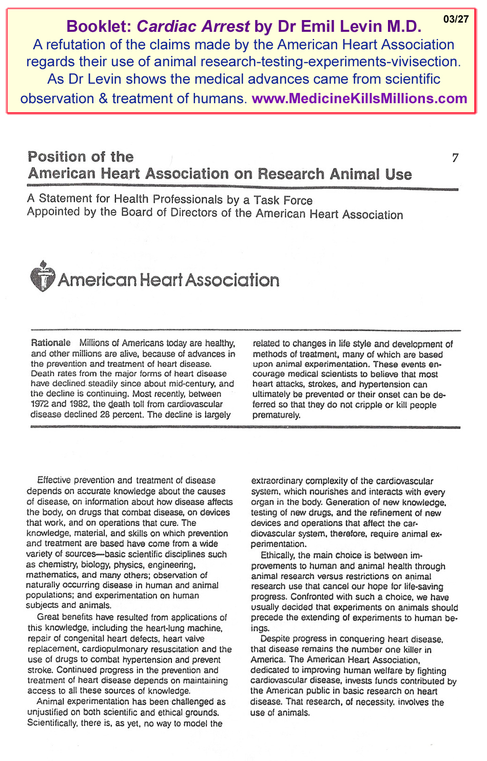 cardiac arrest research paper